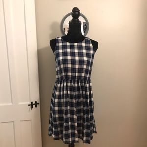 Plaid Forever 21 dress!